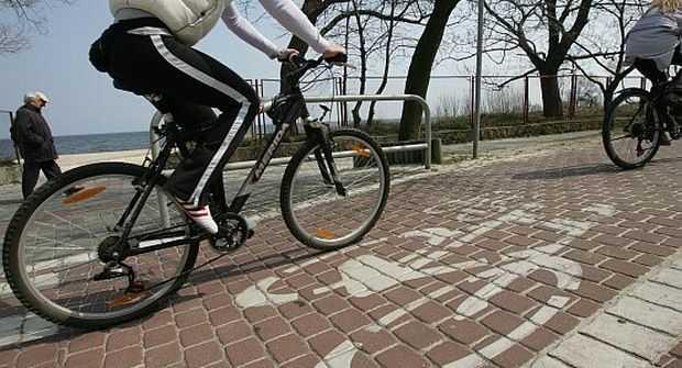 rowerem po sopocie