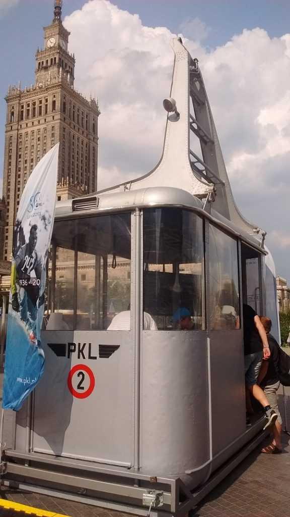 Interaktywny wagonik Warszawa Sopot