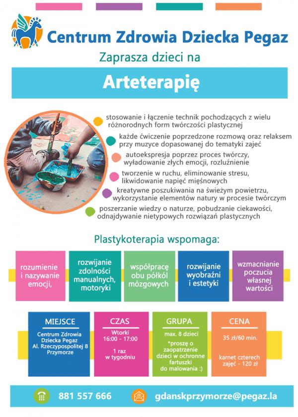 Arteterapia- WARSZTATY PEGAZ GDANSK