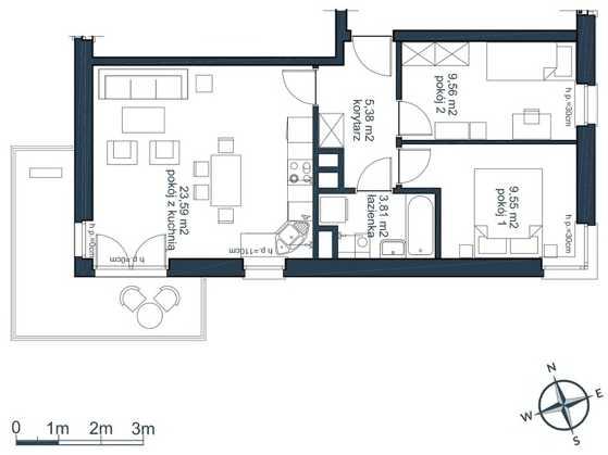 mieszkania 3 pokojowe słoneczna zatoka gdynia witomino
