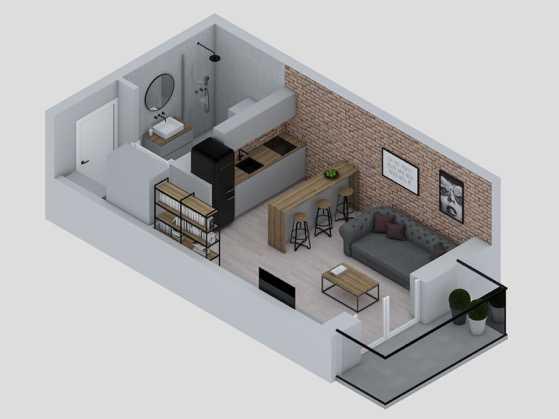 mieszkanie 1 pokojowe słoneczna zatoka gdynia witomino