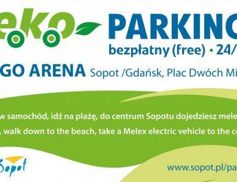 eko parking sopot bezplatny wakacje lipiec sierpien w sezonie