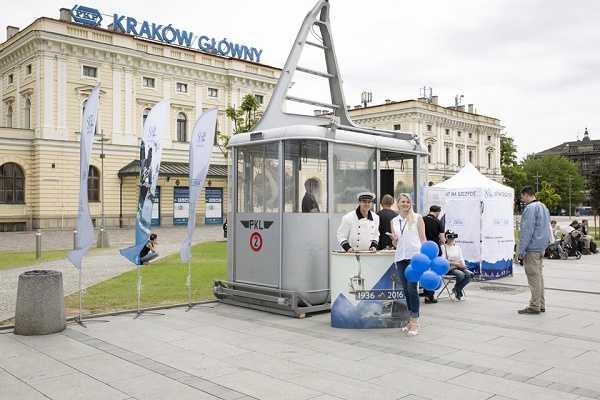 Interaktywny wagonik Kraków