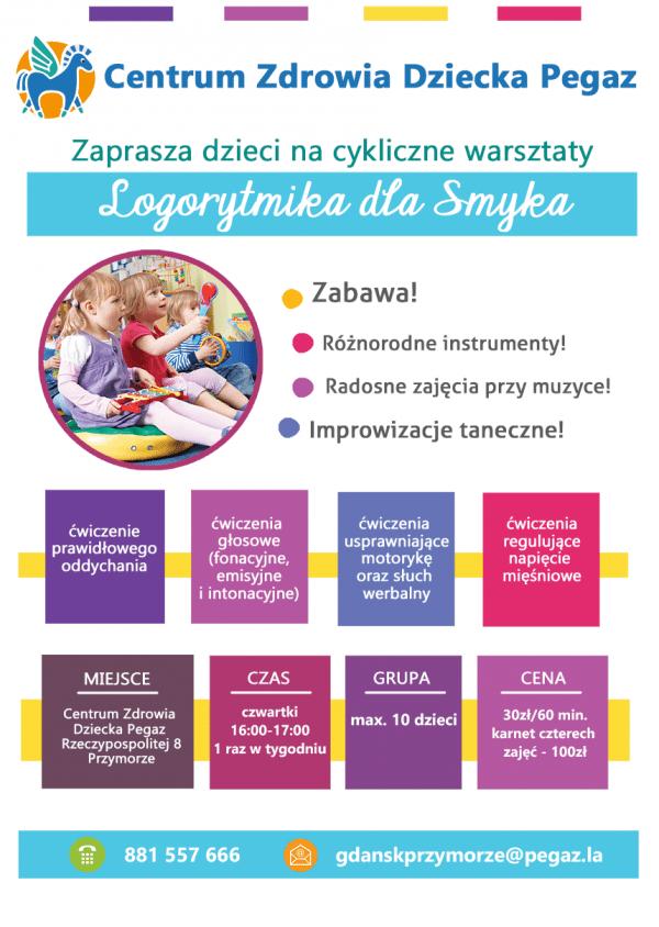 LOGORYTMIKA- WARSZTATY PEGAZ GDANSK