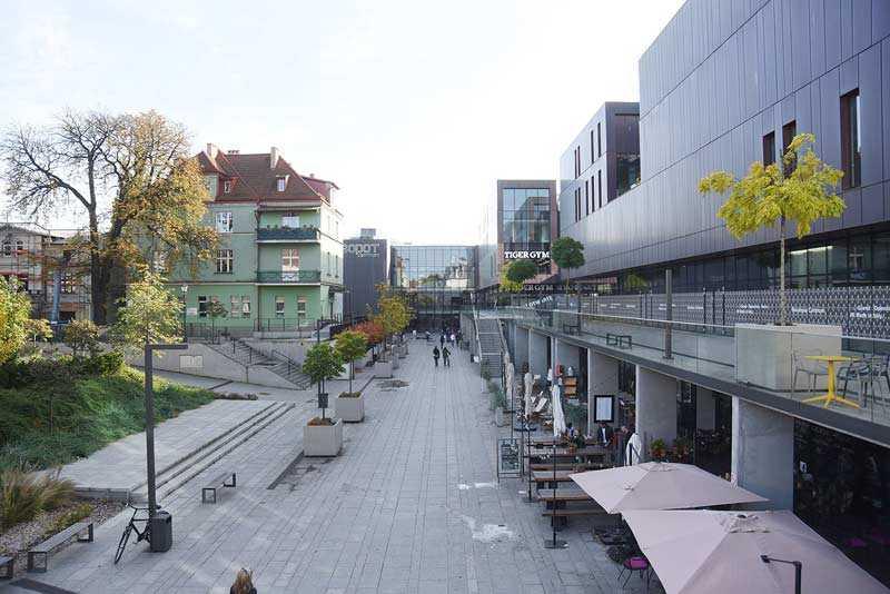 Sopot Centrum sklepy restauracje
